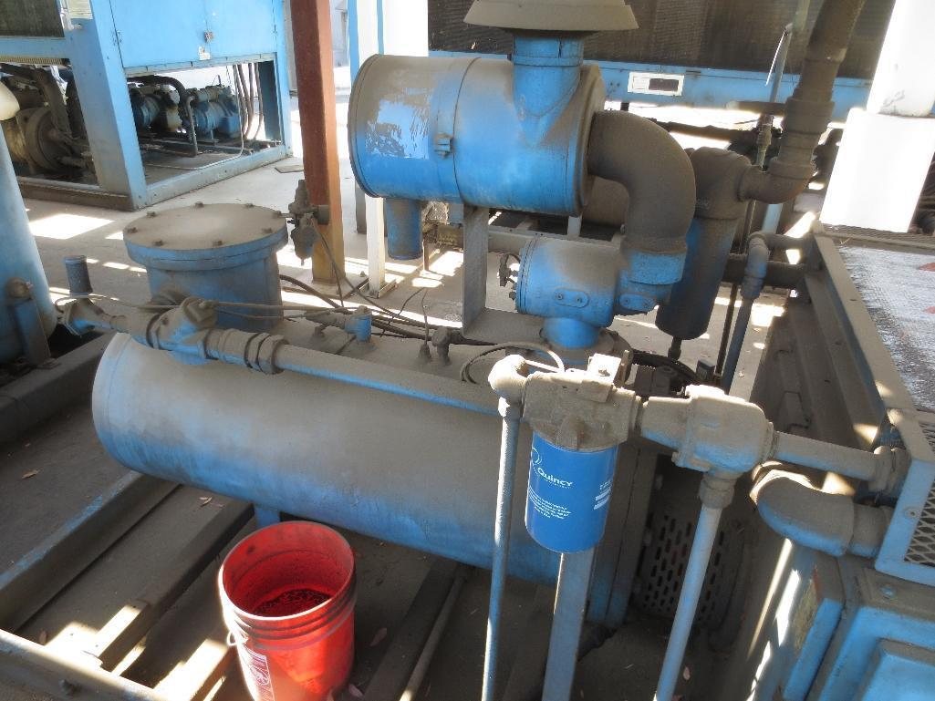 Quincy 75 Air Cooled Rotary Screw Compressor, M/N QMALACA31B S/N 70877 - Image 5 of 7