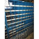 Three Compartment Bins Of Socket Head Bolts, Sheet Metal Screws