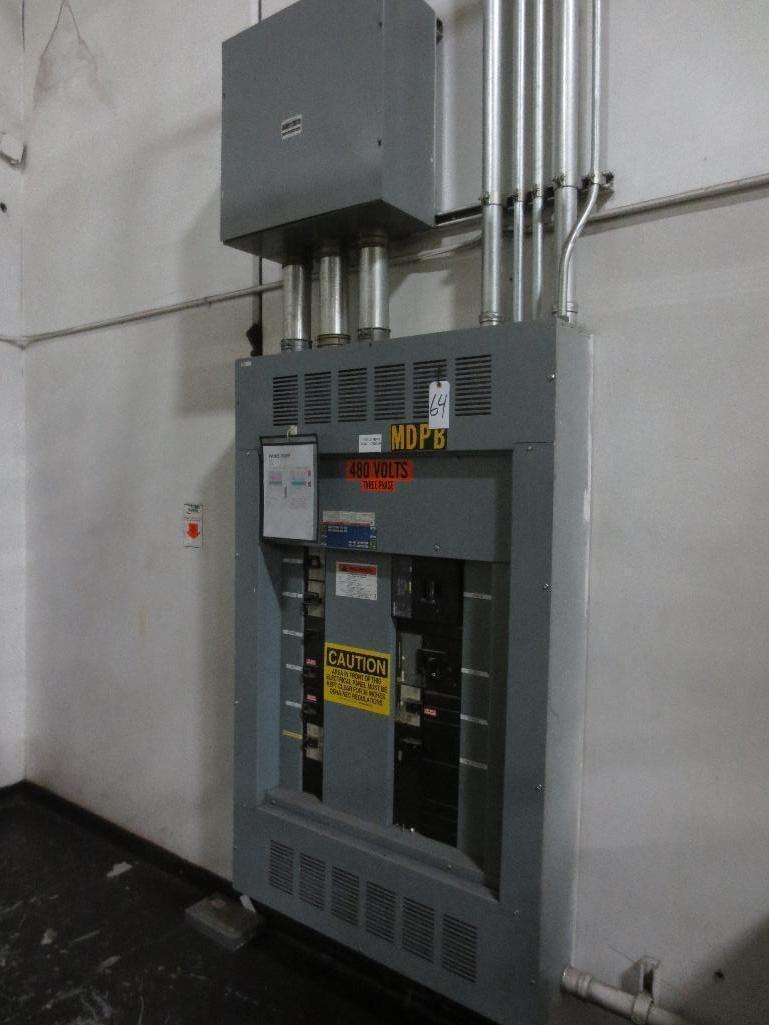 Square D Breaker Panel, 1200amp Max 250-600v, Cat No. HCP326812N