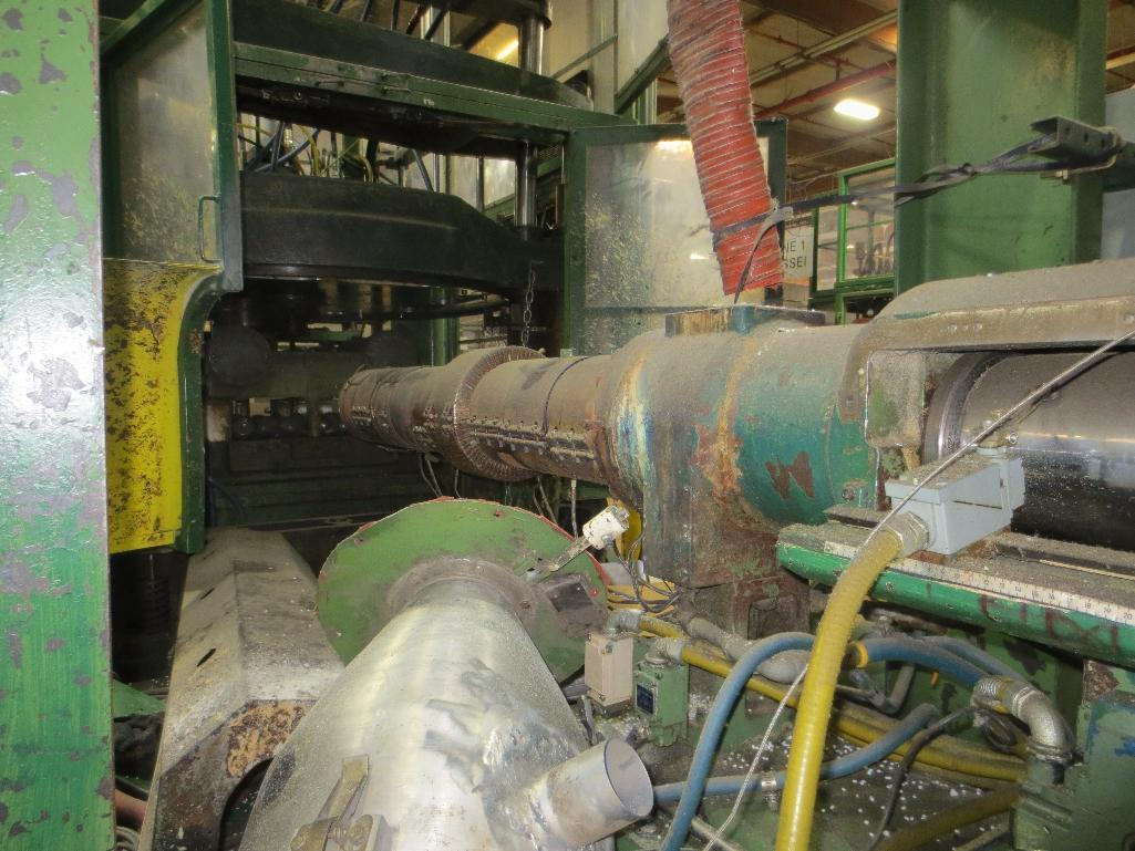 Nissei Stretch Blow Molding Machine, M/N ASB650EX II, S/N 8565292, Mfg. Date 5/86 - Image 4 of 16