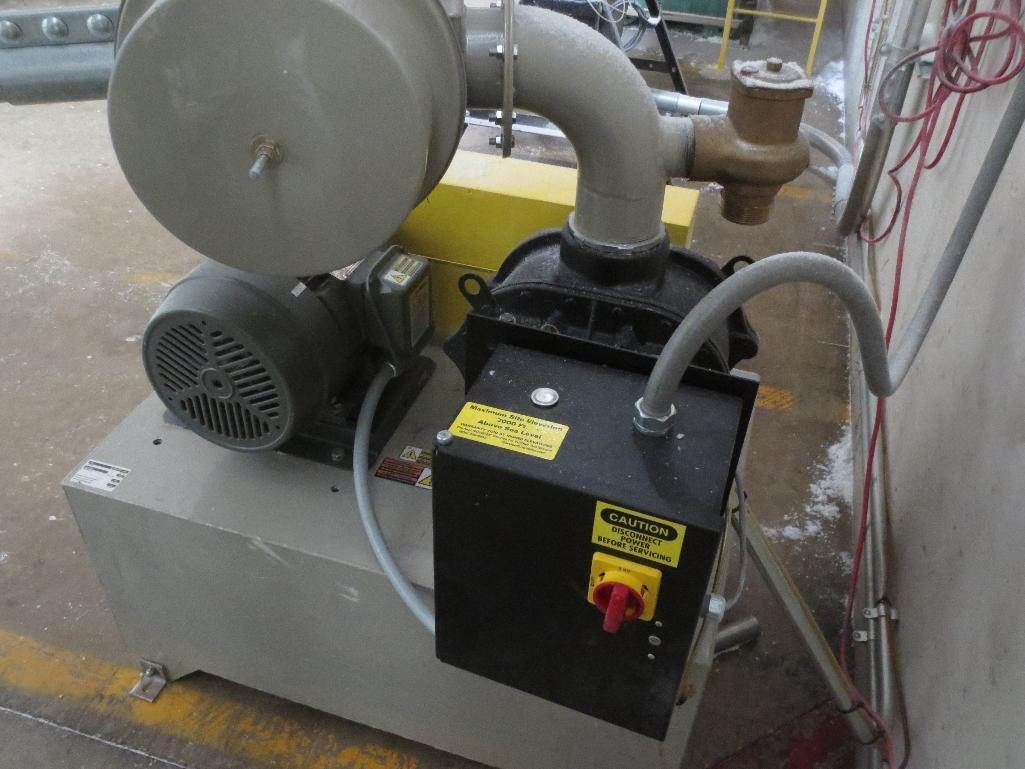Novatec Vacuum Pump M/N VPDB-7.5 S/N 55203-3912 Mfg. Date 12-14 - Image 4 of 5