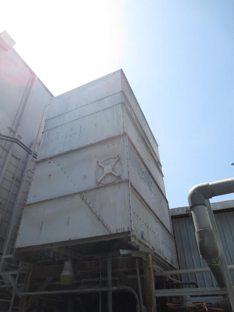 Large Conair/Franklin Cooling Tower & Holding Tank With Three Pump Motors - Image 2 of 9