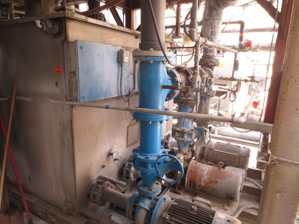 Large Conair/Franklin Cooling Tower & Holding Tank With Three Pump Motors - Image 7 of 9