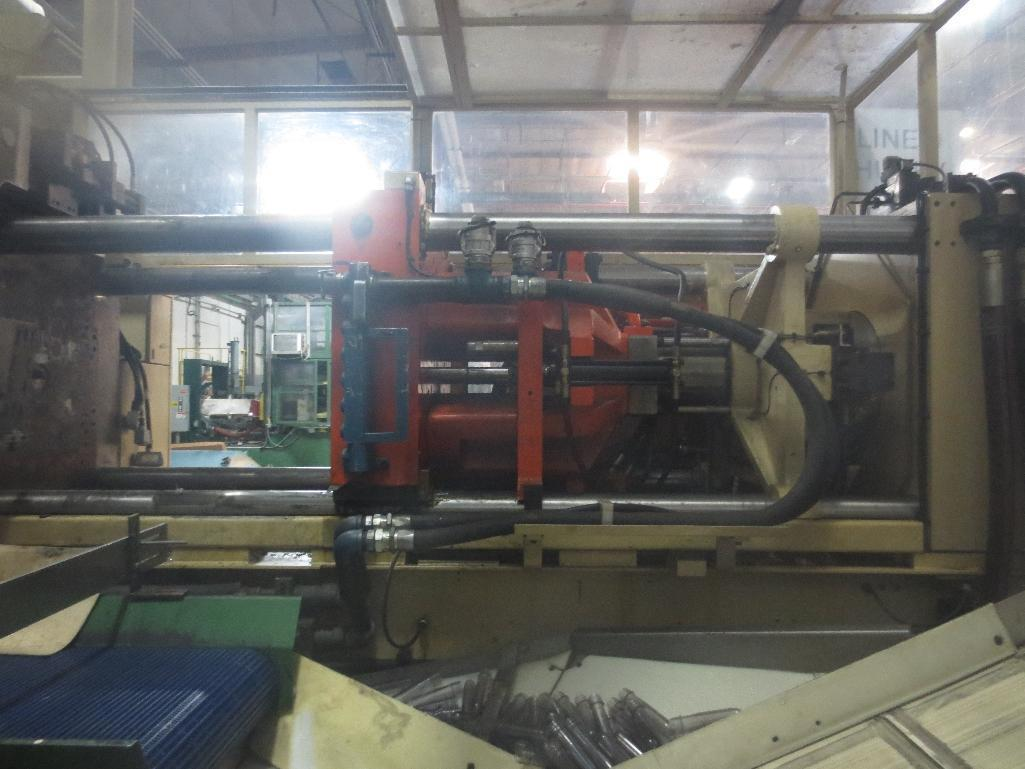 Huskey Injection Molder, M/N XL300PET S/N 9420 With 5-Ton H-Frame Hoist System - Image 15 of 35