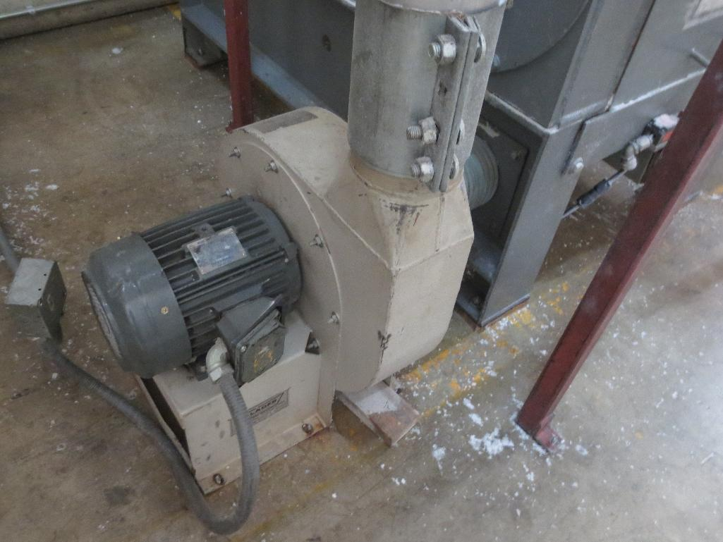 Foremost Grinder With Blower Motor M/N 6-B S/N 36904 - Image 4 of 5