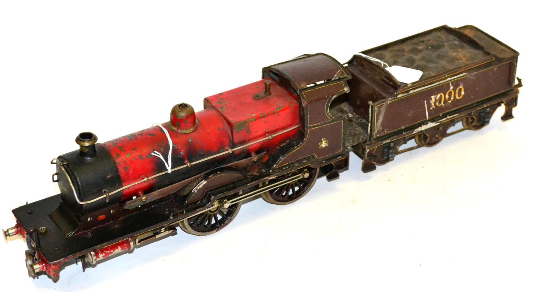bassettlowke gauge i live steam midland railway compound