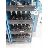 CAT-50 Taper Tooling (100) w/ Storage Rack