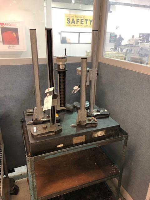Lot 291 - 2 Height Gage w/Granite plate
