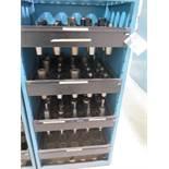 CAT-50 Taper Tooling (75) w/ Storage Rack