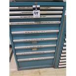 9-Drawer Tooling Cabinet w/ Endmills