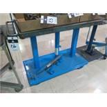 1000 Lb Cap Hydraulic Lift Cart