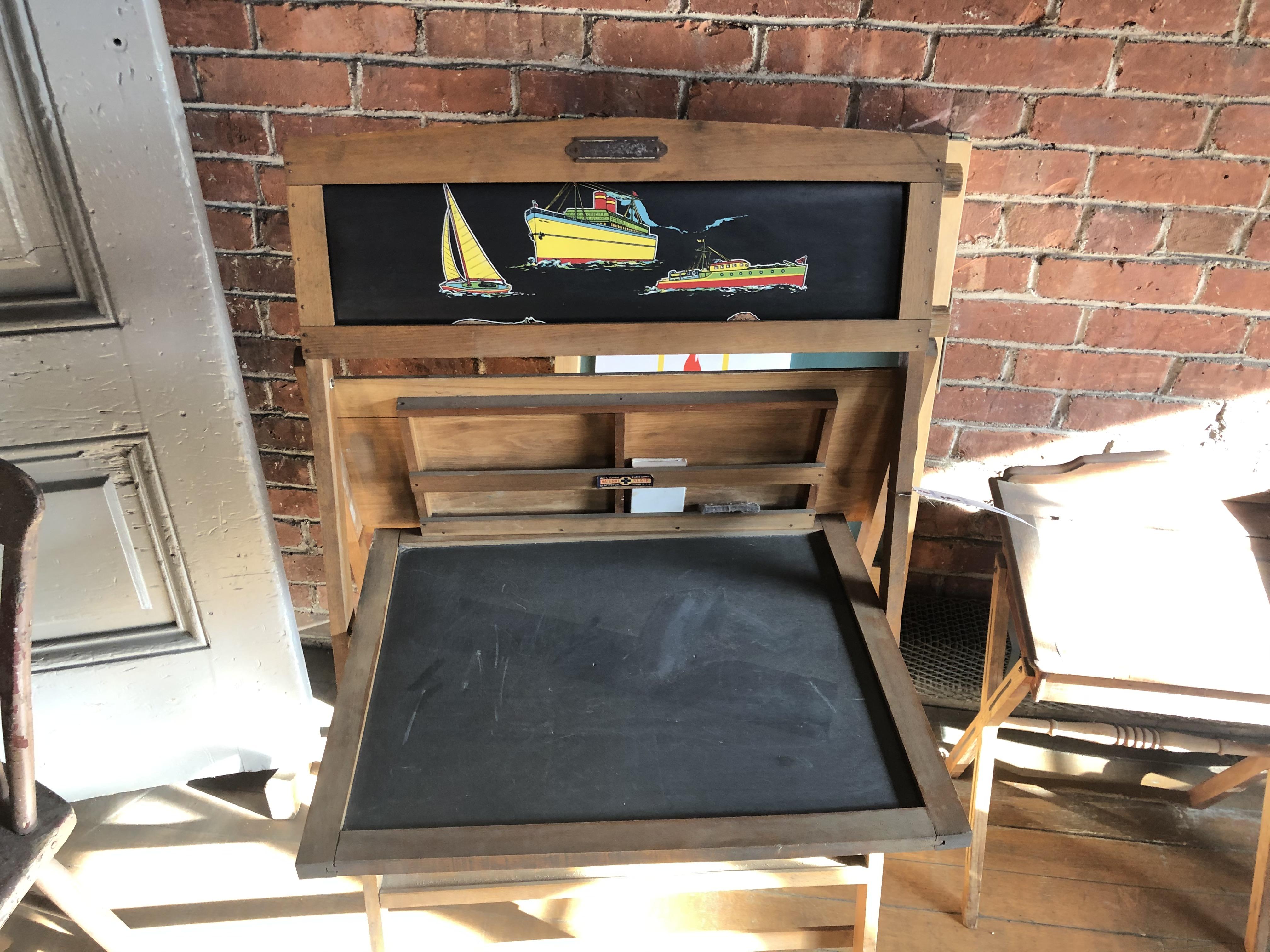 Vintage Easel Style Chalkboard