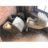 (3) Vintage Baby Carriages
