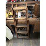 {LOT} Walnut Rolltop Desk
