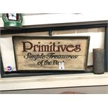 """""""Antique"""" Sign & Primitives Sign"""