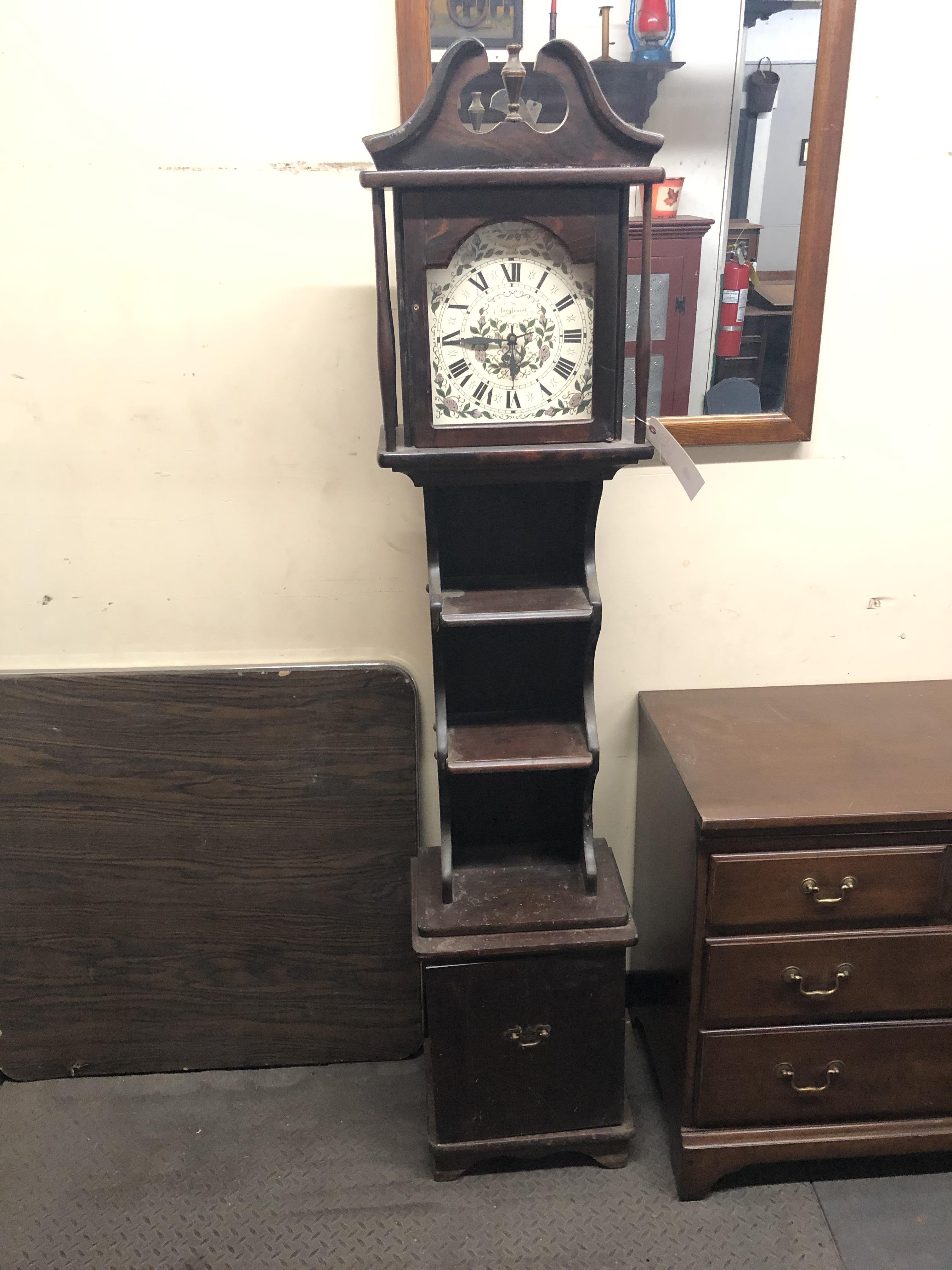 Tanglewood Grandfather Clock w/Racks