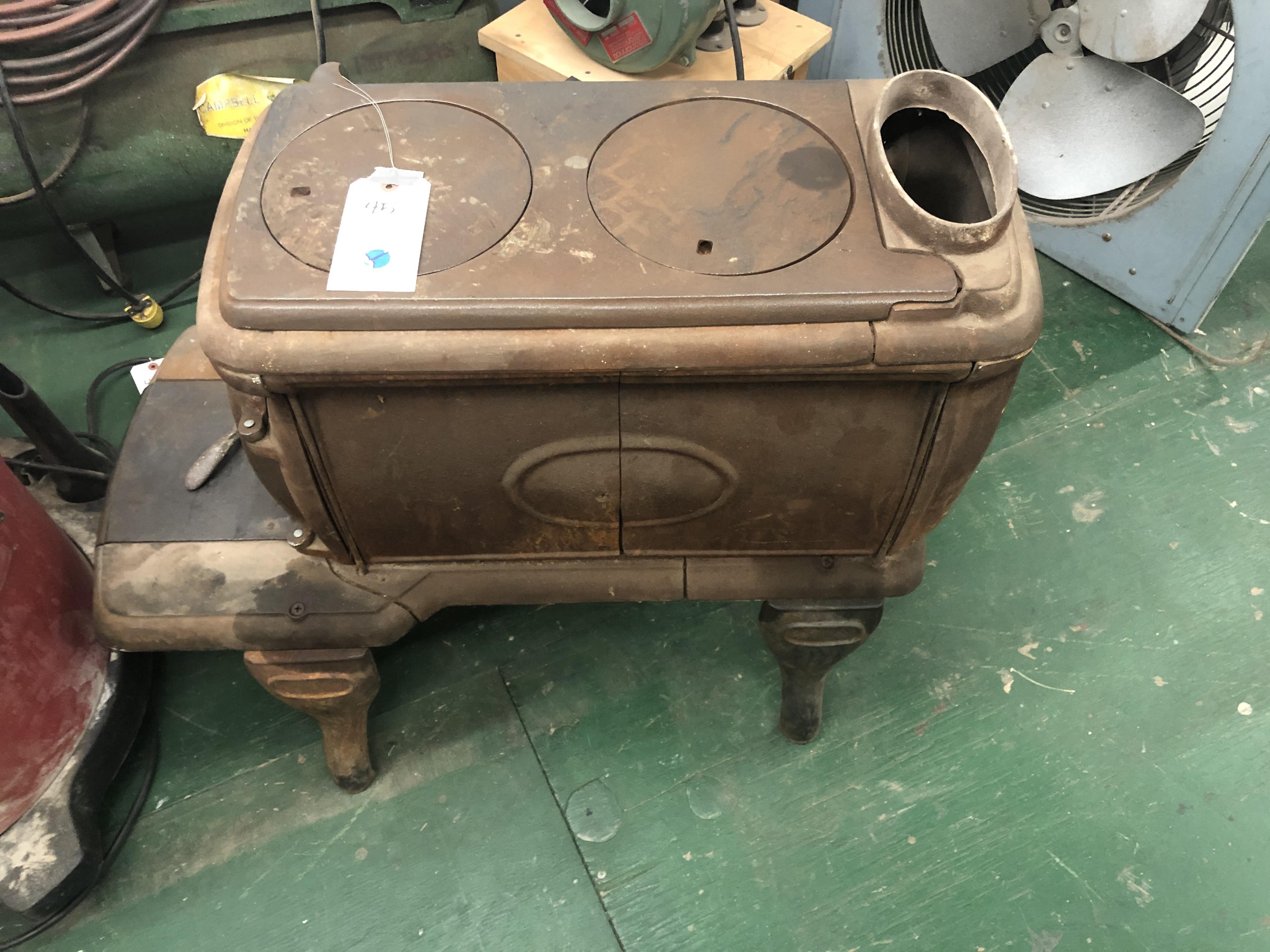 Cast Iron Vintage Wood Stove