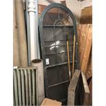{LOT} Vintage Windows in Entry Way - Approx.