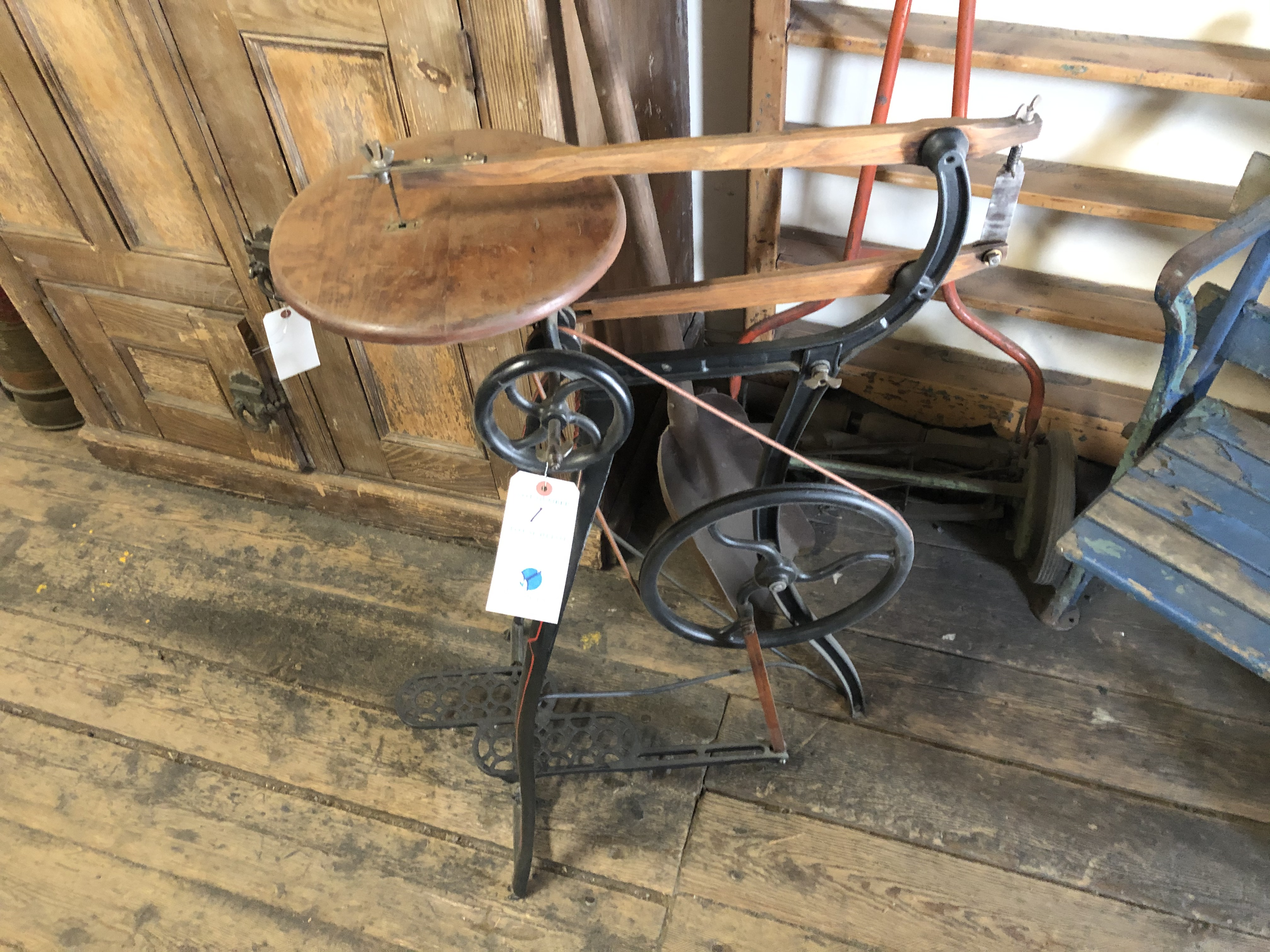 Antique Reciprocating Saw (1888) Foot Pedal