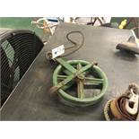 {LOT} On Table c/o: Harness & Pulley