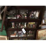 {LOT} In case c/o: Asst. Antiques, Cigarette Packs, Rotary Phone, Toys, Etc (See Pics)