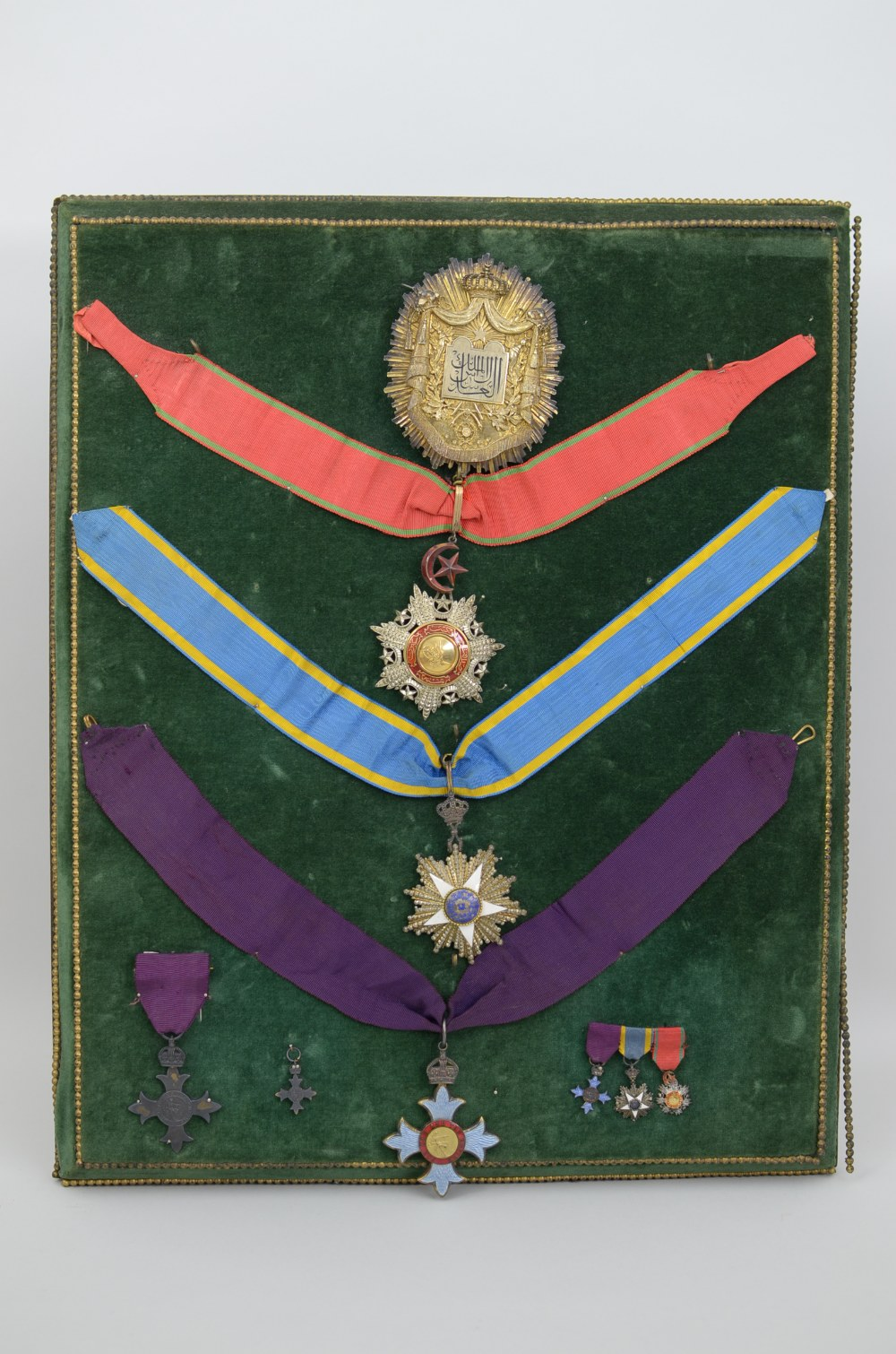 Lot 282 - Five: THE MOST EXCELLENT ORDER OF THE BRITISH EMPIRE, 1st issue, C.B.E., (Civil) Commander's neck