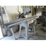 """5 HP INDUSTRIAL CUT OFF SAW, UP TO 14"""" BLADE, 88"""" X 6"""" TABLE, 230/460V, 3 PHASE"""
