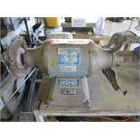 """BALDOR 8"""" DOUBLE END BENCH GRINDER, 3/4 HP, 1800 RPM, 115-230V, SINGLE PHASE"""