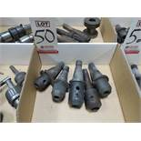 LOT - (5) #40 NMTB QUICK CHANGE TOOL HOLDERS