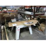 """CONQUEST IND. 15-3/4"""" RADIAL ARM SAW, 4 HP, 230V, 3-PHASE, 60 HZ, MAX CUT DEPTH: 4-29/32"""", NEW/"""