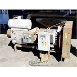 210 CFM Used Hydrovane Rotaryvane Air Compressor, Mdl. 170 CK, Fan Type Oil