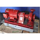 550 GPM Used Bell & Gossett Centrifugal Pump Station, Mdl. 1510-3E, #