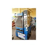 125 Ton Used PHI Credit Card 4 Post Hydraulic Laminating Press With Steam Heated Platens