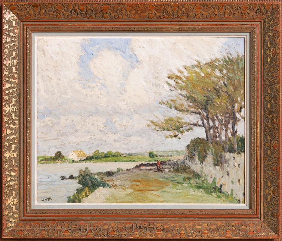 Lot 14 - Charles Vincent Lamb RHA RUA (1893-1964) Carraroe, Co Galway (c.1950)