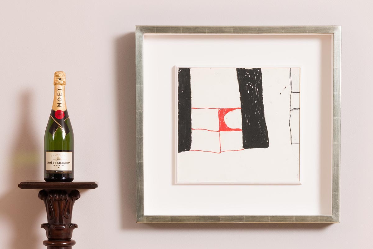 Lot 50 - William Scott OBE RA (1913-1989) Abstract Composition (1964)