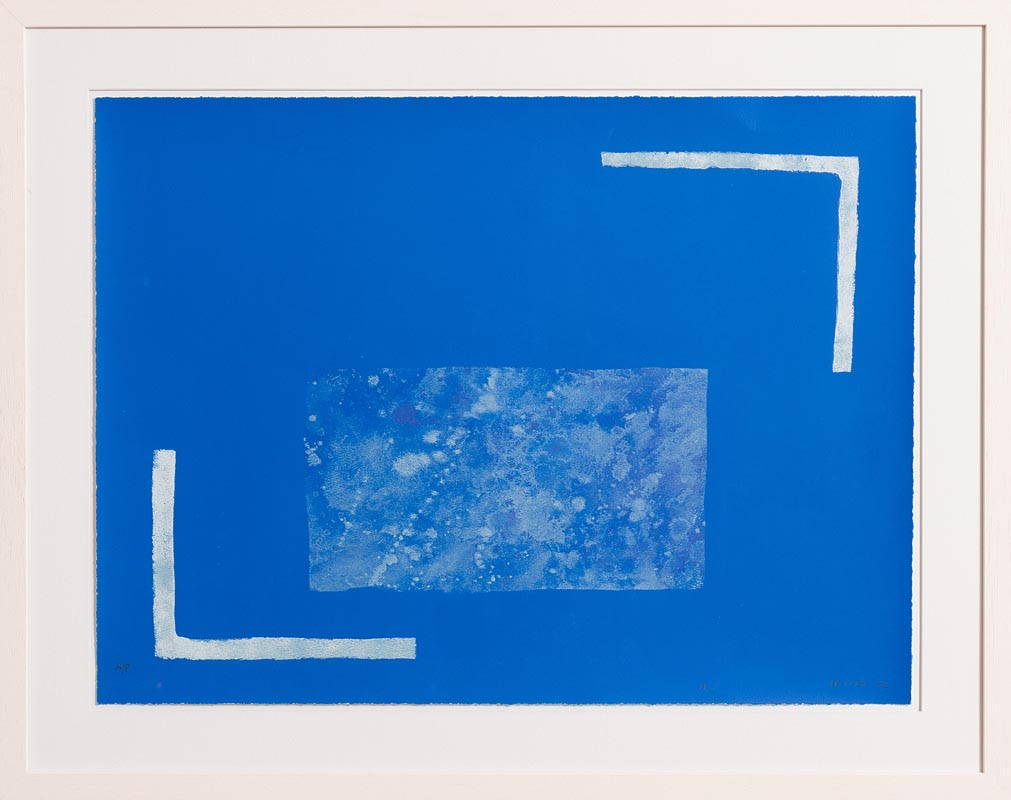 Lot 41 - William Scott OBE RA (1913-1989) Angles Equal, from 'A Poem for Alexander' 1972