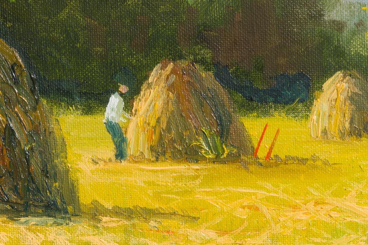 Lot 4 - Norman J. McCaig (1929-2001) Haystacks, Rathmullen Co Donegal