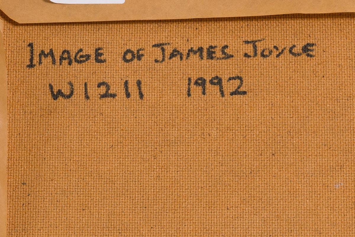 Lot 56 - Louis Le Brocquy HRHA (1916-2012) Image of James Joyce (1992)