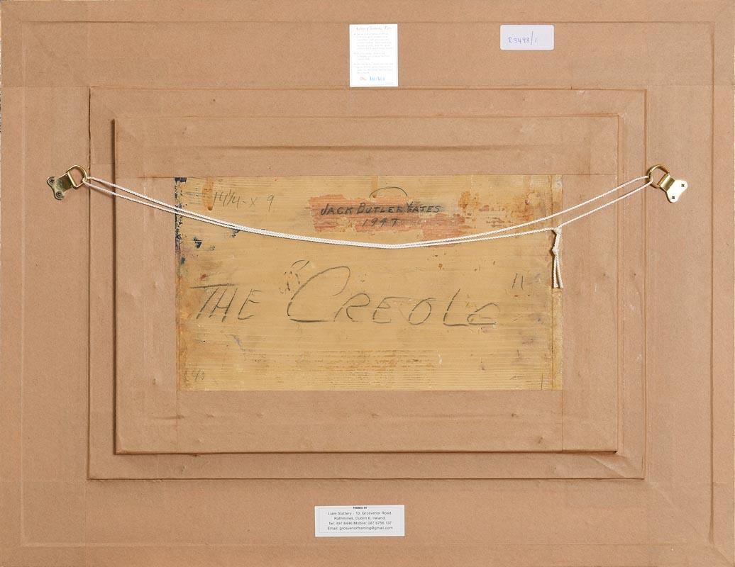 Lot 29 - Jack Butler Yeats RHA (1871-1957) The Creole (1946)