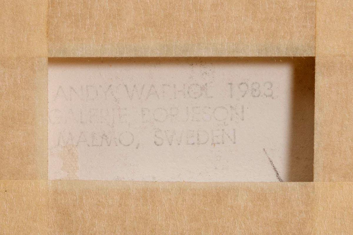 Lot 47 - Andy Warhol (1928-1987) The Nun, from Ingrid Bergman, 1983 (F. & S. II.314)