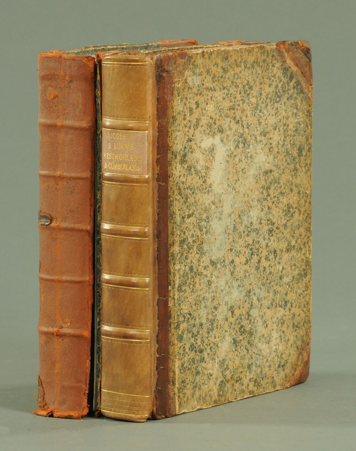 """Lot 1 - """"The History & Antiquities of The Counties of Westmorland & Cumberland"""","""