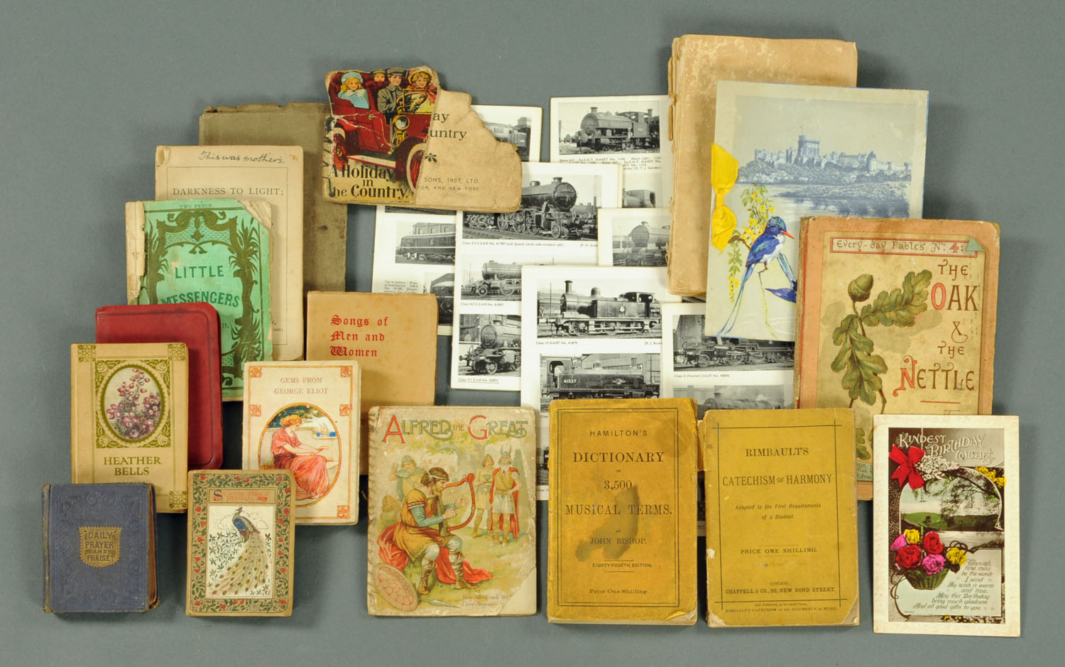 "Lot 3 - A small collection of children's books, together with Ruskin ""Sesame and Lilies"","