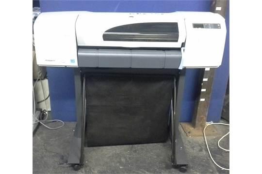 hp designjet 510 inkjet a1 printer usb powers on. Black Bedroom Furniture Sets. Home Design Ideas