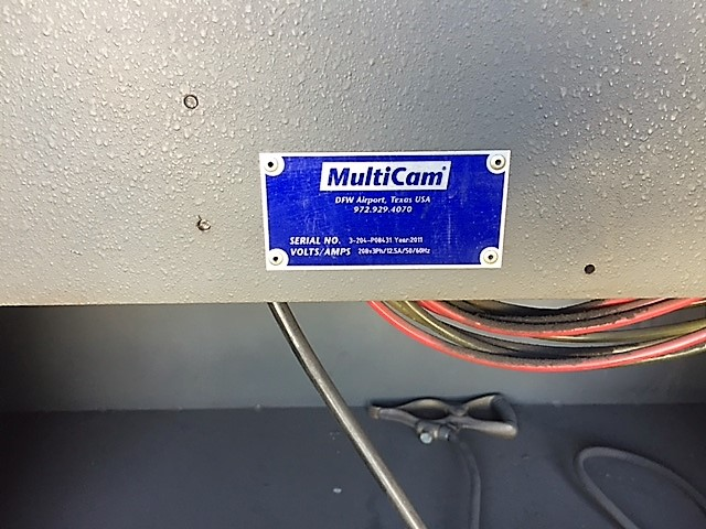 MultiCam 3204-P Series High Definition Plasma Cutter, S/N 3-204-P08431, New 2011 - Image 12 of 14