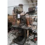 Bridgeport Ram Type Vertical Mill, 2 HP, S/N 223866