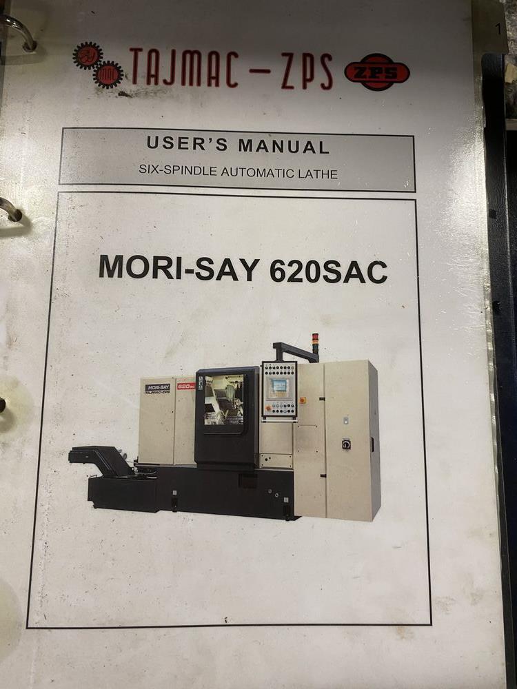 ZPS Mori-Say 620SUAC 6 Spindle Super Precision Automatic Bar (Screw) Machine, New 2016 - Image 23 of 24