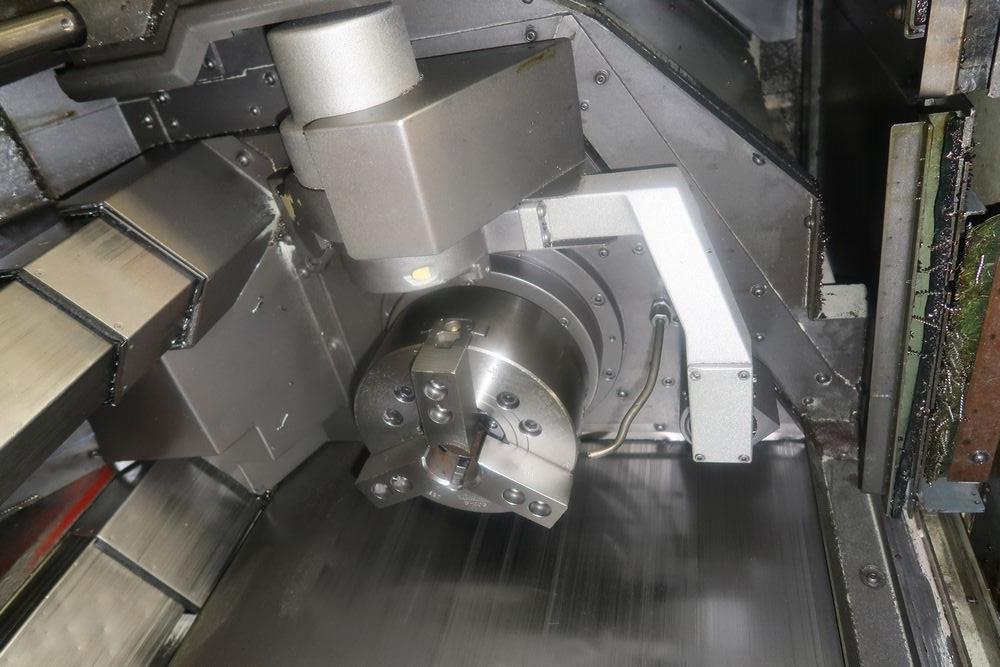 Mazak Multiplex 6200 Twin Spindle CNC Turning Center Lathe, S/N 168461 - Image 7 of 17