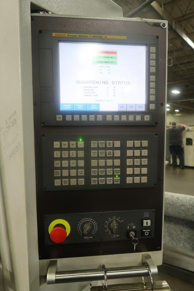 Koepfer KFS-100.5 CNC Hobb Sharpening Grinder, New 2019, S/N (approx. 100 Hours use) - Image 2 of 11