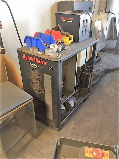MultiCam 3204-P Series High Definition Plasma Cutter, S/N 3-204-P08431, New 2011 - Image 7 of 14