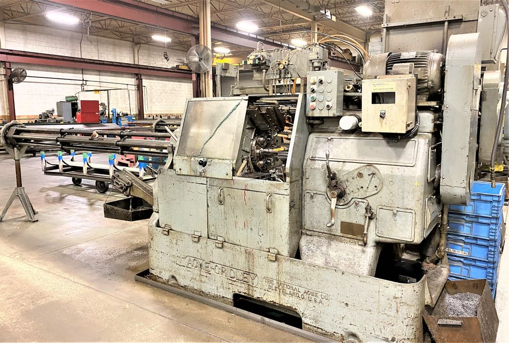 """Lot 41A - 1"""" RA-6 National Acme 6 Spindle Automatic Screw Machine, S/N 23186-AM"""